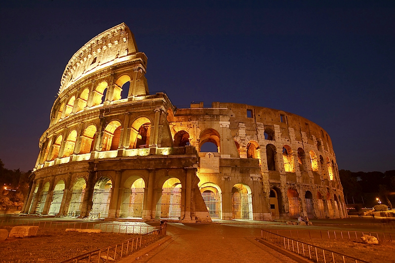 Rome - Colosseum at Night
